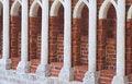Free Row Of Stone Columns Stock Photo - 5902480