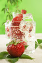 Free Fresh Water And Strawberries Royalty Free Stock Images - 5907649