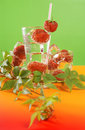 Free Fresh Water And Strawberries Stock Images - 5907814