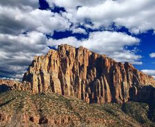 Free The Zion National Park Stock Image - 5900041