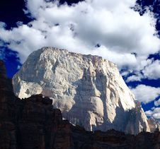 Free The Zion National Park Royalty Free Stock Image - 5900086