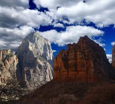 Free The Zion National Park Royalty Free Stock Image - 5900096