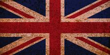Free Rusty Flag Of Great Britain Stock Photos - 5900143