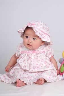 Free Cute Baby Stock Image - 5900231