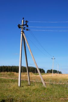 Free Power Pole Stock Photos - 5900353