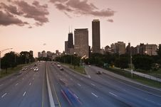 Free Lake Shore Drive Royalty Free Stock Image - 5900416
