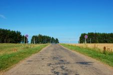Free Road Landscape Stock Photography - 5900422
