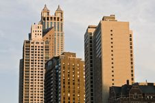Free Late Afternoon In Chicago Stock Photo - 5900430