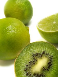 Free Green Fruits Stock Photography - 5900752