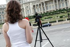 Free Reporter Stock Photography - 5901022