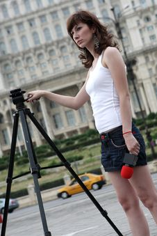 Free Reporter Royalty Free Stock Images - 5901029