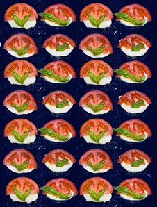 Free Caprese Background Royalty Free Stock Photography - 5901057