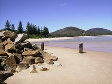 Free Trial Bay, Sth. West Rocks. Royalty Free Stock Images - 5901119
