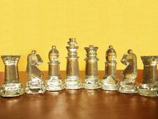 Chess Characters Stock Photography