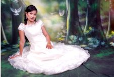 Free Asia Girl Royalty Free Stock Photography - 5901437