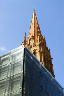 Free Church Tower Royalty Free Stock Photography - 5901697