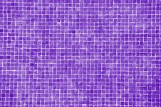 Big Lilac Mosaic Stock Images