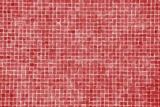 Big Red Mosaic Royalty Free Stock Photography