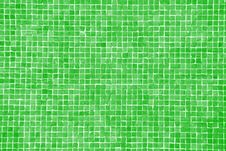 Big Green Mosaic Stock Photography