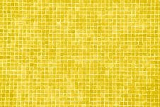 Big Yellow Orange Mosaic Royalty Free Stock Photos