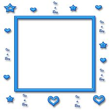 Free It S A Boy Frame Stock Photography - 5902302