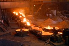 Free Industrial Metallurgy Royalty Free Stock Photography - 5902367