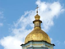 Free Church A Dome Gold Royalty Free Stock Images - 5902479