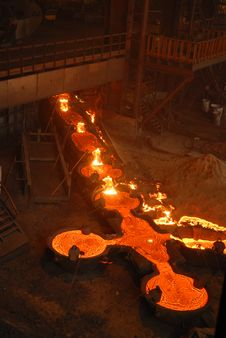 Free Industrial Metallurgy Royalty Free Stock Photography - 5902607