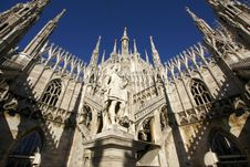 Free Cathedral In Milan Stock Image - 5902981