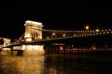 Free Budapest - Chain Bridge Royalty Free Stock Photos - 5903068