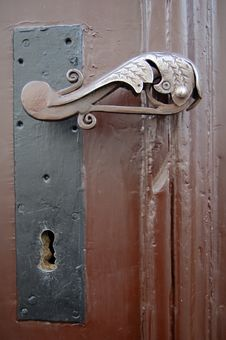 Free Old Rusty Door Handle Royalty Free Stock Photo - 5903165