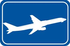 Free Airplane Royalty Free Stock Image - 5903856