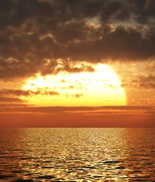 Free Beautiful Sunset Royalty Free Stock Images - 5904289