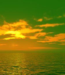 Free Beautiful Sunset Royalty Free Stock Photos - 5904308