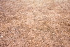 Free Red And Orange Gravel With Tire Tracks Stock Images - 5904384
