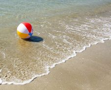 Colored Beach Ball Royalty Free Stock Images