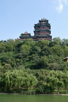 Chinese Traditional Architecture Royalty Free Stock Photo