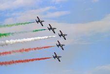 Free Frecce Tricolori Stock Images - 5904454