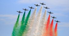 Free Frecce Tricolori Royalty Free Stock Photos - 5904498