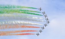 Free Frecce Tricolori Royalty Free Stock Photo - 5904515