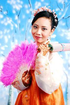 Free Korean Girl Royalty Free Stock Image - 5904806