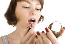 Free Morning Make -up Royalty Free Stock Photo - 5904845