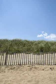 Free Beach Fence Stock Photo - 5905210