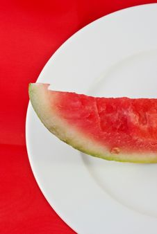 Free Who Ate My Watermelon Stock Photo - 5905400