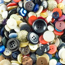Free Sewing Buttons Royalty Free Stock Images - 5905529