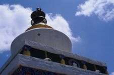 Stupa In Tibet Royalty Free Stock Images