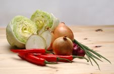 Free Mix Vegetable Royalty Free Stock Images - 5905669
