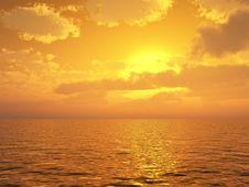 Free Beautiful Sunset Stock Images - 5905674