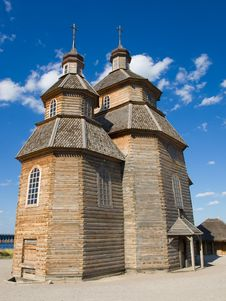 Free Wooden Church Stock Image - 5906401