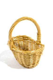 Free Empty Wicker Basket Royalty Free Stock Images - 5906959